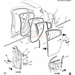 Bisagra inferior izquierda (piloto)