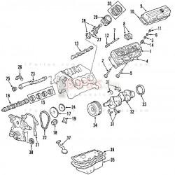Bomba de aceite - Kit de reparación