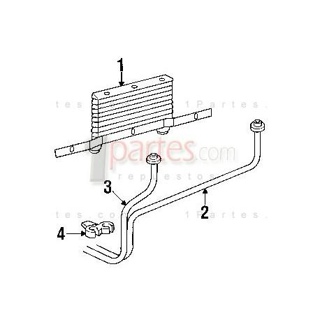 Radiador / Enfriador de aceite de la transmisión